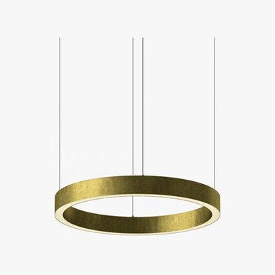 Люстра Light Ring Horizontal D60 Brass от дизайнера Massimo Castagna