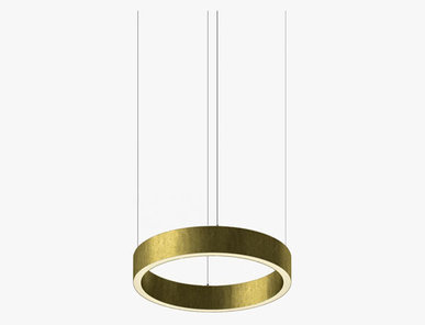 Люстра Light Ring Horizontal D30 Brass от дизайнера Massimo Castagna