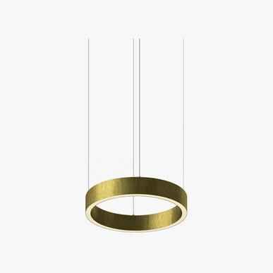 Люстра Light Ring Horizontal D30 Brass от дизайнера Massimo Castagna