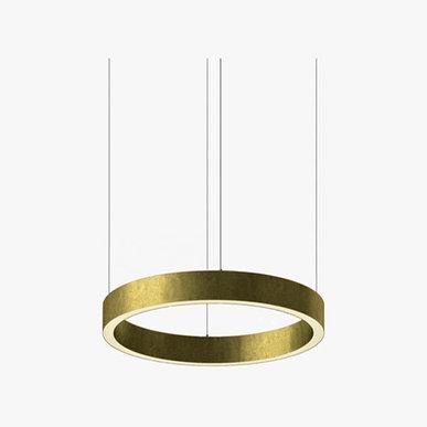 Люстра Light Ring Horizontal D50 Brass от дизайнера Massimo Castagna