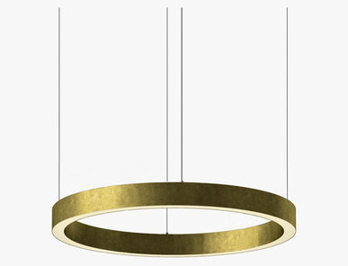 Люстра Light Ring Horizontal D70 Brass от дизайнера Massimo Castagna