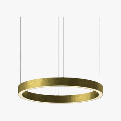 Люстра Light Ring Horizontal D70 Brass от дизайнера Massimo Castagna