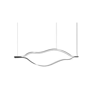 Люстра Tape Light L100 Nickel от дизайнера Massimo Castagna