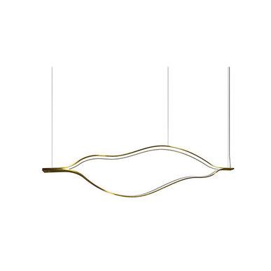 Люстра Tape Light L100 Brass от дизайнера Massimo Castagna