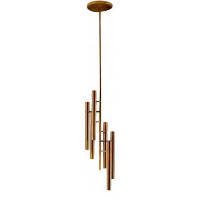 Люстра Tubular Light 6 от дизайнера Massimo Castagna