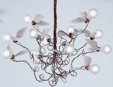 Люстра Birdie от дизайнера Ingo Maurer