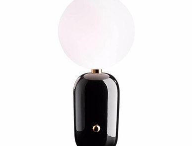 Настольная лампа Aballs D24 Black от дизайнера Jaime Hayon
