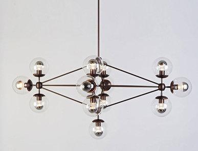 Люстра Modo Chandelier 13 Globes от дизайнера Jason Miller