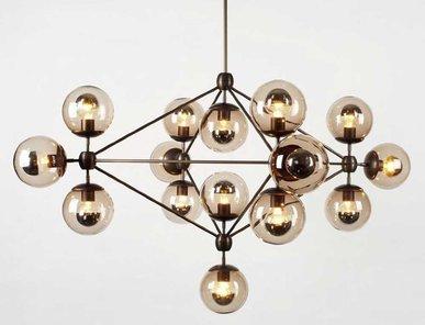 Люстра Modo Chandelier 15 Globes от дизайнера Jason Miller