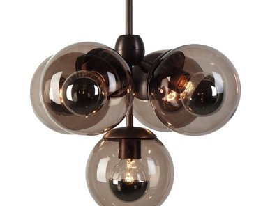 Люстра Modo Chandelier 5 Globes от дизайнера Jason Miller