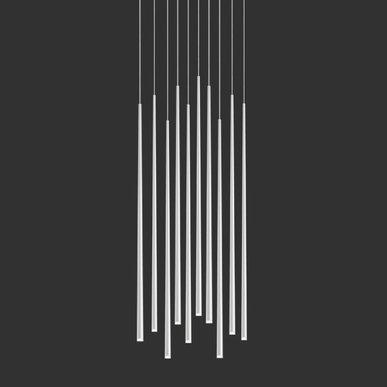 Люстра Slim 10 White от дизайнера Jordi Vilardell