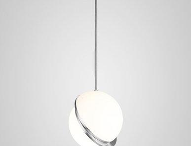 Светильник подвесной Crescent Light D25 Chrome от дизайнера Lee Broom
