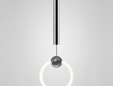 Светильник подвесной Ring Light Chrome D30 от дизайнера Lee Broom