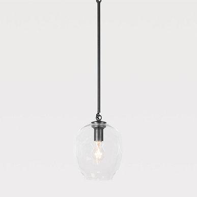 Светильник подвесной Branching Bubbles One Black от дизайнера Lindsey Adelman