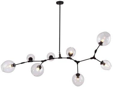 Люстра Branching Bubbles 8 Black от дизайнера Lindsey Adelman