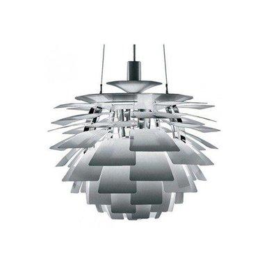 Люстра PH Artichoke Steel D48 от дизайнера Poul Henningsen
