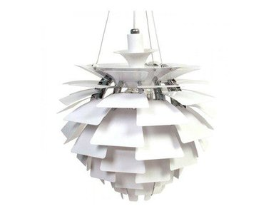 Люстра PH Artichoke White D48 от дизайнера Poul Henningsen