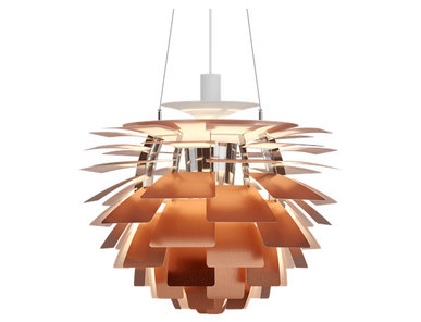 Люстра PH Artichoke Copper D48 от дизайнера Poul Henningsen
