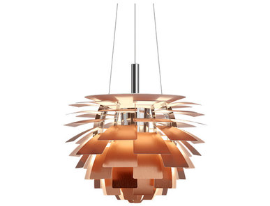 Люстра PH Artichoke Copper D38 от дизайнера Poul Henningsen