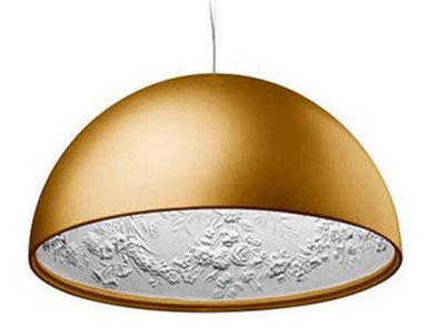 Люстра Skygarden Flos Gold D90 от дизайнера Marcel Wanders