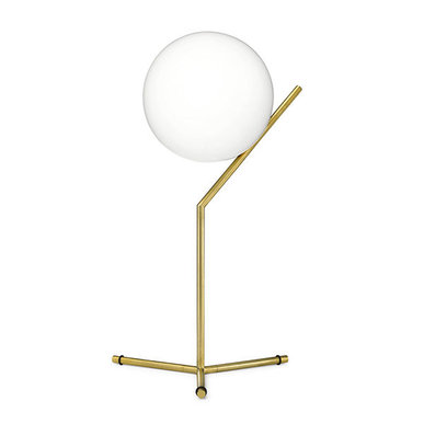 Настольная лампа IC Lighting Table 1 High Gold от дизайнера Michael Anastassiades