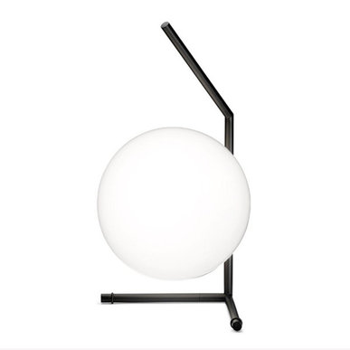 Настольная лампа IC Lighting Table 1 Low Black от дизайнера Michael Anastassiades