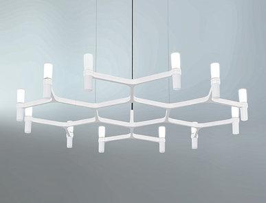 Люстра Crown Plana Mega White L110 от дизайнерской студии Jahs+Laub