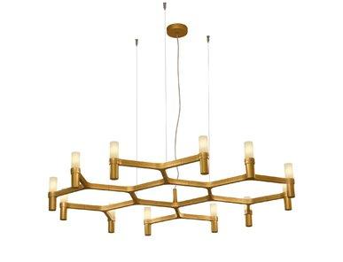 Люстра Crown Plana Mega L110 Gold от дизайнерской студии Jahs+Laub