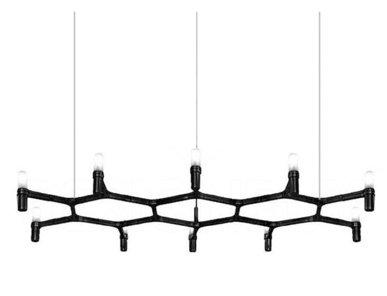 Люстра Crown Plana Mega Black L140 от дизайнерской студии Jahs+Laub