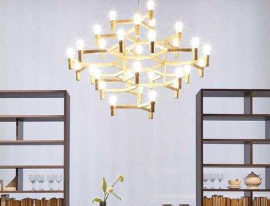 Люстра Crown Major Gold D45 от дизайнерской студии Jahs+Laub