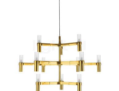 Люстра Crown Minor Gold от дизайнерской студии Jahs+Laub