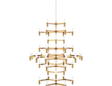 Люстра Crown Summa Gold от дизайнерской студии Jahs+Laub