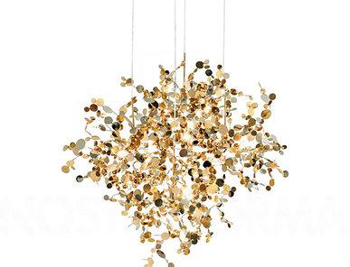 Люстра Argent D85 Gold от дизайнера Nicolas Terzani