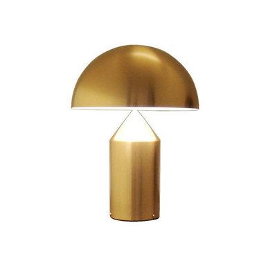 Настольная лампа Atollo Gold D38 от дизайнера Vico Magistretti