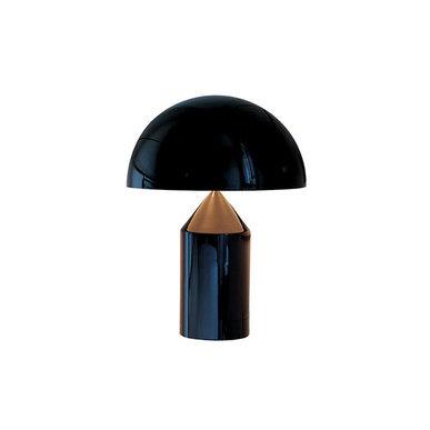 Настольная лампа Atollo Black D25 от дизайнера Vico Magistretti
