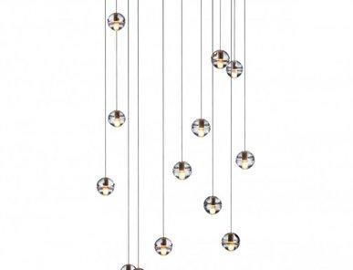 Люстра 14.14 Fourteen Square Pendant Chandelier от дизайнера Omer Arbel