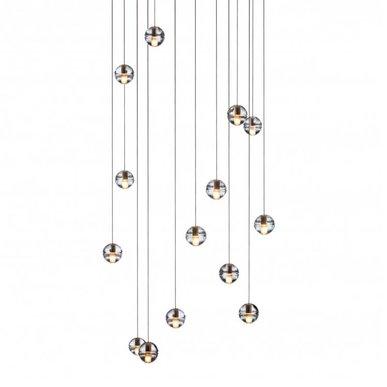 Люстра 14.14 Fourteen Round Pendant Chandelier от дизайнера Omer Arbel