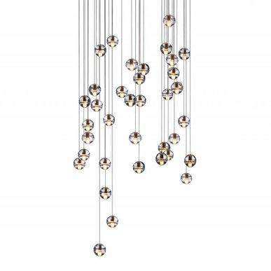 Люстра Bocci 14.36 Round Pendant Chandelier от дизайнера Omer Arbel