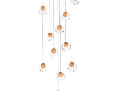 Люстра 28.11 Square Pendant Chandelier от дизайнера Omer Arbel