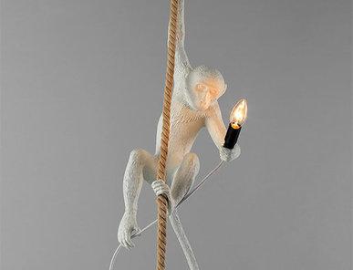 Светильник Monkey Lamp Ceiling фабрики Seletti