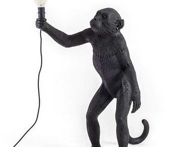 Торшер Monkey Black Floor Lamp фабрики Seletti