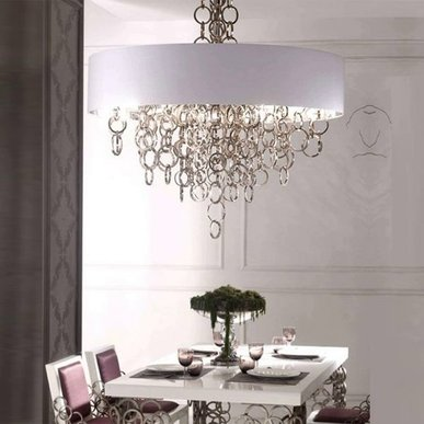 Люстра Sigma L2 7128/80 White-Silver 60 от дизайнера Simone Granchi