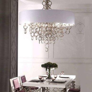Люстра Sigma L2 7128/80 White-Silver 80 от дизайнера Simone Granchi