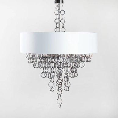 Люстра Sigma L2 7128/140 White-Silver 140 от дизайнера Simone Granchi
