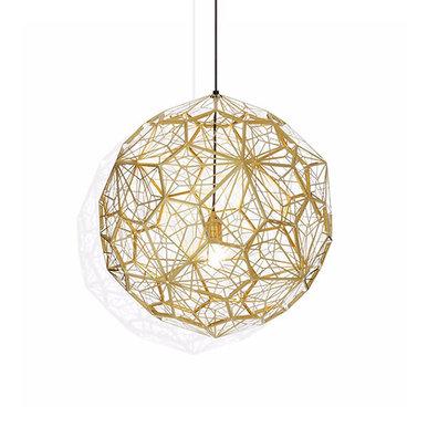 Светильник Etch Web Gold D80 от дизайнера Tom Dixon