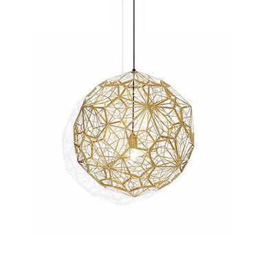 Светильник Etch Web Gold D50 от дизайнера Tom Dixon