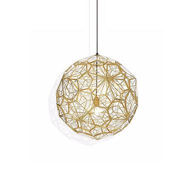 Светильник Etch Web Gold D40 от дизайнера Tom Dixon
