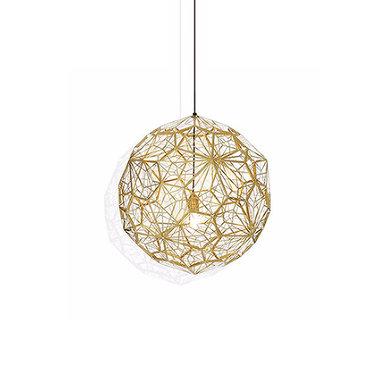 Светильник Etch Web Gold D30 от дизайнера Tom Dixon