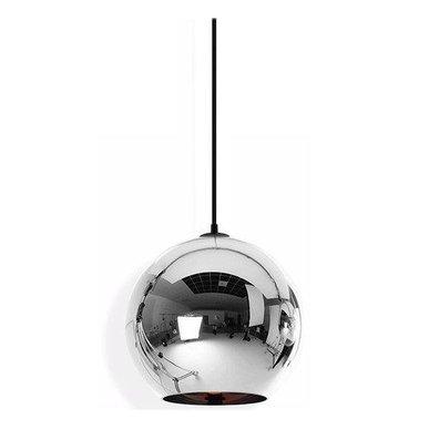 Светильник Copper Сhrome Shade D35 от дизайнера Tom Dixon