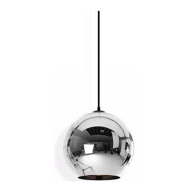 Светильник Copper Сhrome Shade D30 от дизайнера Tom Dixon